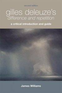 Cover of Gilles Deleuze's Difference and Repetition