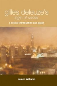 Cover of Gilles Deleuze's Logic of Sense