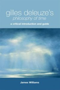 The cover of Gilles Deleuze's Philosophy of Time